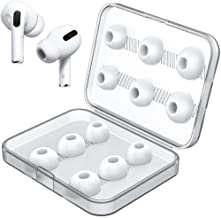 Link Dream 12 Pieces Replacement Ear Tips for AirPods Pro Silicon Ear Buds Tips with Portable Storage Box (White)