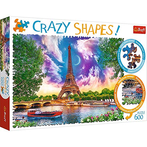 Trefl- Crazy Edition Puzzels, Color Coloreado (11115)