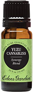 Edens Garden Yuzu Cannabliss Essential Oil Synergy Blend, 100% Pure Therapeutic Grade (Highest Quality Aromatherapy Oils- Inflammation & Pain), 10 ml