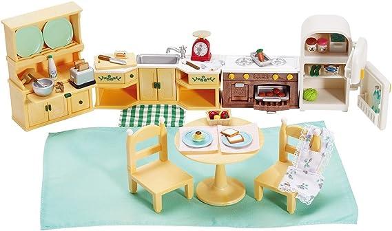 Calico Critters Deluxe Kozy Kitchen Set