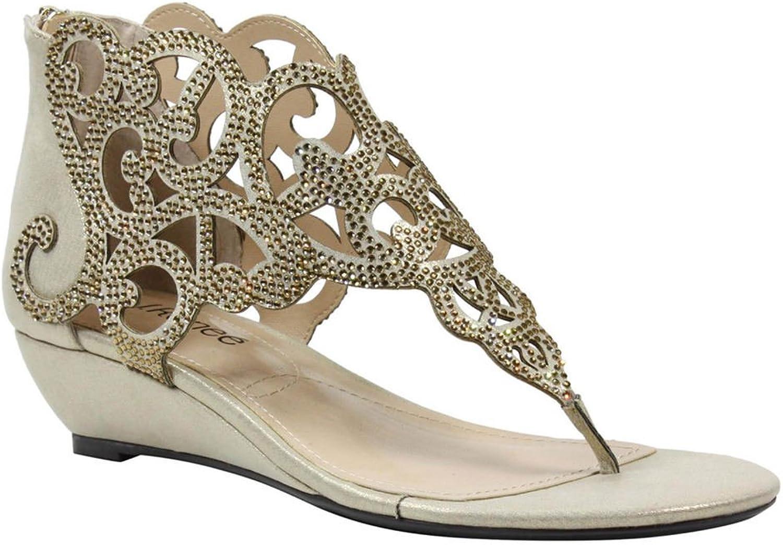 J.Renee Womens Minka Sapew Open Toe Ankle Fashion Boots