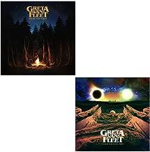 Greta Van Fleet: Studio Album & EP CD Bundle (From The Fires / Anthem Of The Peaceful Army)
