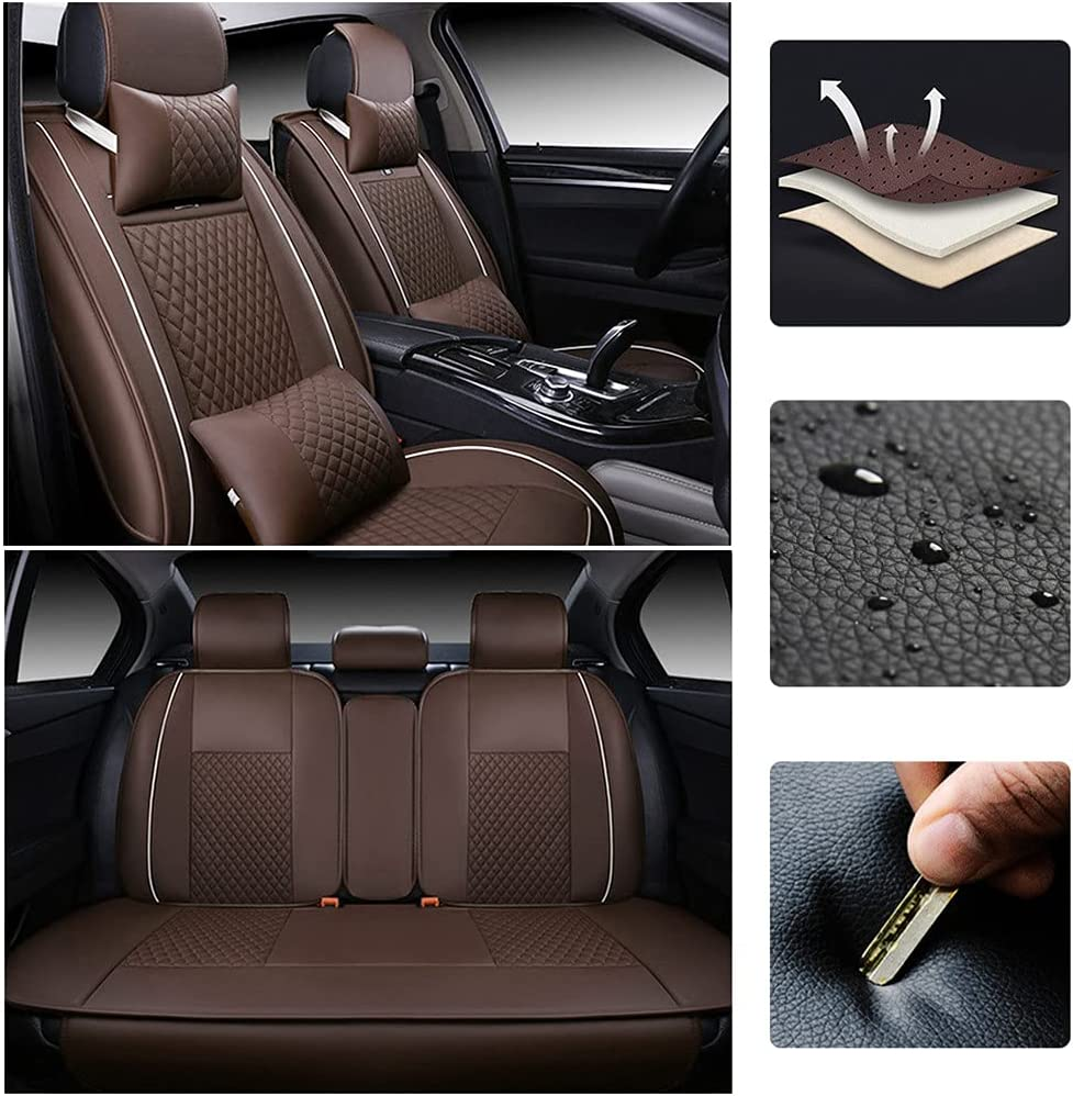 WANLING 2021 new Car Leather Seat Covers Beetle for Volkswagen VW OFFicial shop Fit