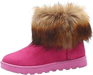 MaNMaNing scarpe Stivali da neve classici da donna con tubo