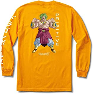 babf1c5b3 Primitive Skate x Dragon Ball Z Long Sleeve Graphic T Shirts Collection for  Men