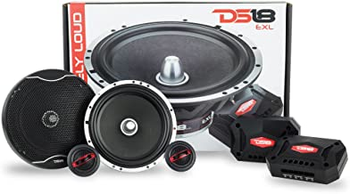 DS18 EXL-SQ6.5C 6.5 Inch 2-Way Packaged Component Car Audio Sound Quality Speaker System..