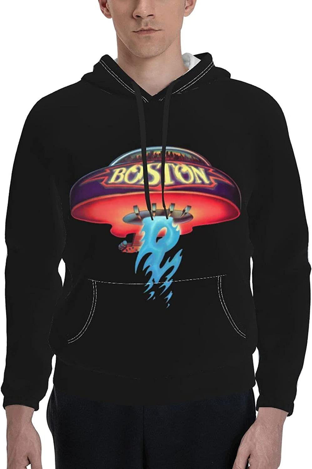 Boston Rock Band Pullover Men Fashion Our shop most popular Unisex Jacket Sleeve Super sale period limited Long