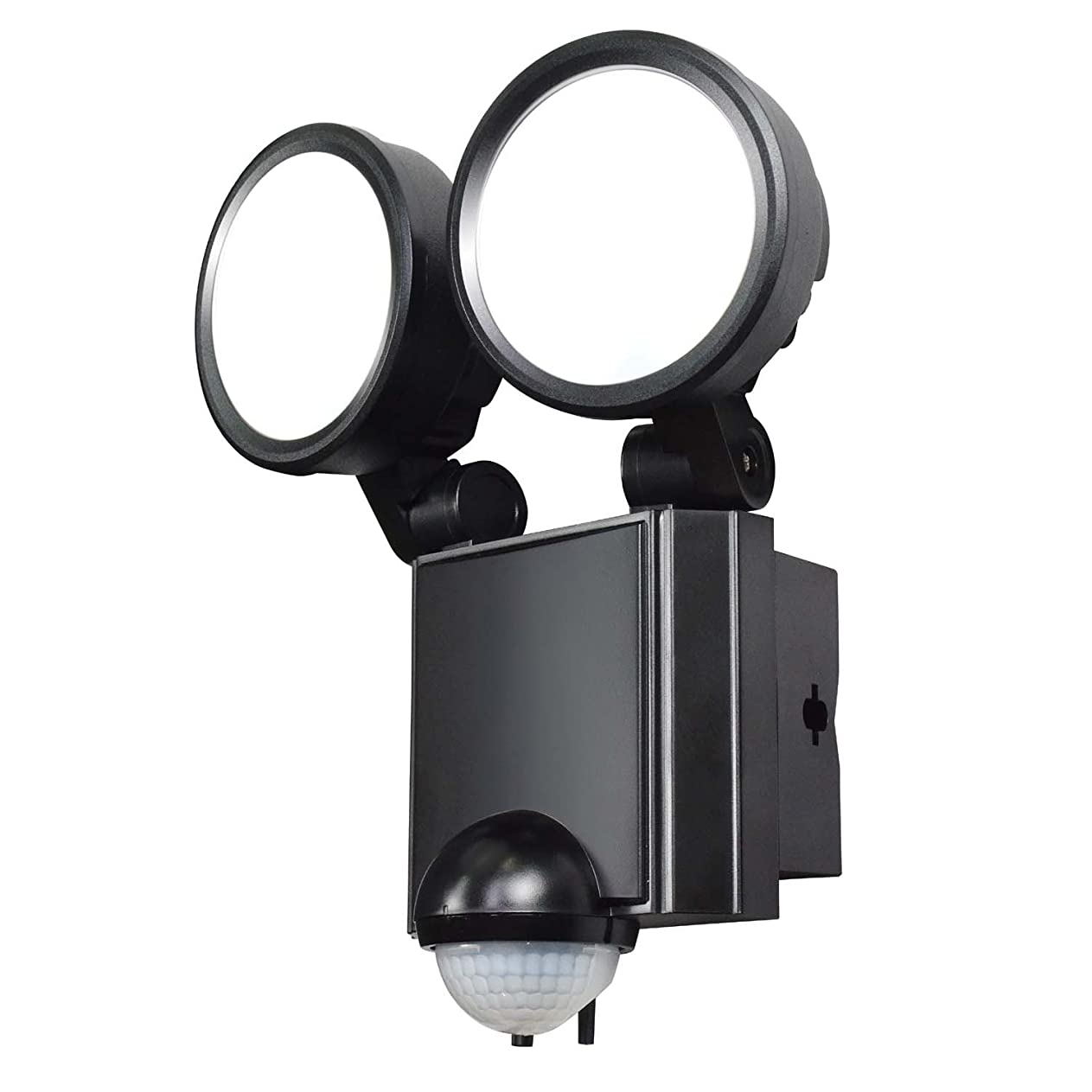 イライラするルネッサンス賛辞ELPA LEDセンサーライト 2灯 ESL-SS802AC ESL-SS802AC