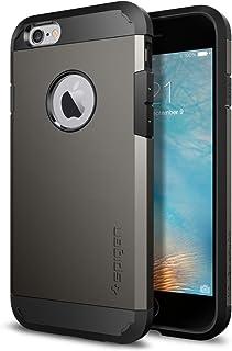 جراب واقي صلب لهاتف iPhone 6S من سبايجن مع حماية شديدة التحمل ووسادة هوائية لهاتف iPhone 6S / iPhone 6 رمادي SGP11612