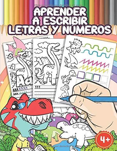 Aprender A Escribir Letras Y Números: Libro Infantiles Para La Escuela Primaria...