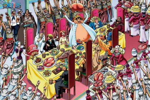 Feast 1000-353 1000 piece pirates one piece (japan import)