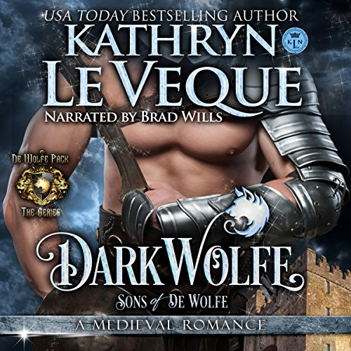 DarkWolfe audiobook cover art