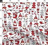 Gnomen Design Wettbewerb, Weihnachten, Elfen Stoffe -