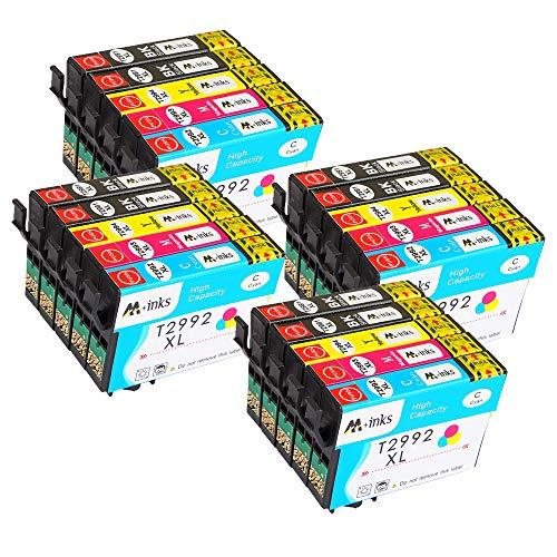 AA+inks Sostituzione per EPSON 29 29XL Cartucce d'inchiostro, Compatibile con Epson Expression Home XP-342 XP-345 XP-442 XP-247 XP-245 XP-355 XP-352 XP-452 XP-335 XP-255 XP-257 Stampante