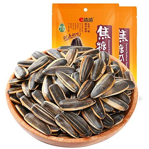 洽洽 焦糖瓜子 ナット ナットとナット軽食スナック キャラメル味ひまわりの種108 g*2袋