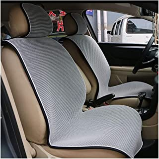 DKX Car rear ventilation network car back seat pad/summer mat seat luxury luxury/high-grade breathable seat cover (Size : ...