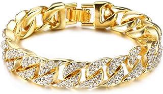 grande vente 986bc 9fbe7 Amazon.fr : Diamant - Bracelets / Homme : Bijoux