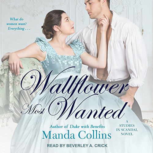 Wallflower Most Wanted audiobook cover art