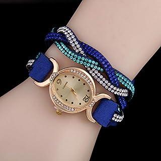 Wristband Women's Wrist Watches Ladies Series Girls Watch Female for Women Women's Watch Two-Tone Diamond Diamond,Colour N...