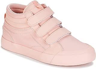 DC Women's Evan Hi V Se J Shoe Row Rosewater Leather Sneakers-3 UK/India (36 EU) (3613373266620)