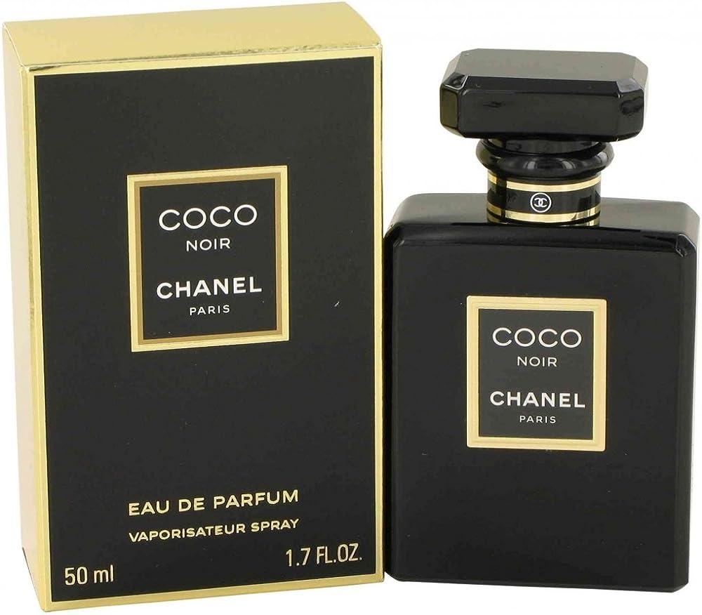 Chanel coco noir,  eau de parfum per donna, 50ml,vapo 3145891136500