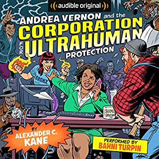 Andrea Vernon and the Corporation for UltraHuman Protection cover art