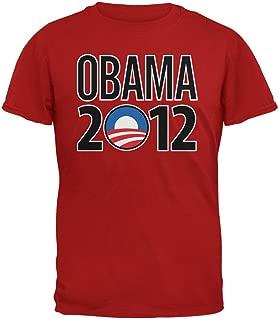 Obama - 2012 Rising Sun Logo Red T-Shirt