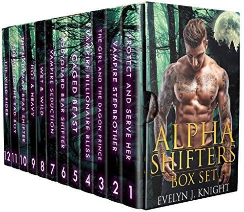 ALPHA SHIFTERS: MEGA BOX SET (12 Book Bundle Of Hot Shape Shifters & Vampires) (English Edition)