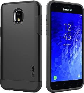 Galaxy J3 2018 Case, SPARIN Hybrid Dual Layer Phone Case for Samsung Galaxy J3 2018 / Express Prime 3 / Amp Prime 3 / Sol 3 / J3 Achieve / J3 Star / J3 V (2018 Release, SM-J337 / SM-J336), Black