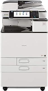 Renewed Ricoh Aficio MP 2553 Monochrome Multifunction Printer - 25 ppm, Copy, Print, Scan, Auto-Duplex, ARDF, 2 Trays, Stand (Renewed)