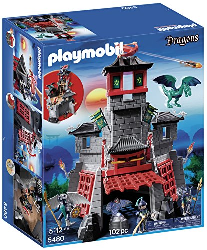 PLAYMOBIL Dragones - Fortaleza Secreta del dragón (5480)