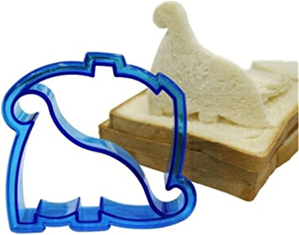 LALANG DIY Sandwich Mold Dinosaur Cookie Pastry Cutter Bread Mold Baking Tool