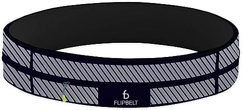 FlipBelt Zipper, Reflective Black, Small
