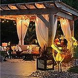 Outdoor-Solarleuchten, Gartendekoration, Solar-Lampe, hohles Blatt, Eisen, Landschaftslampe, wasserdichte LED-Lichter für Garten, Rasen, Terrasse oder Hof