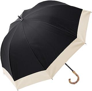 100%完全遮光 99%ではダメなんです! 【Rose Blanc】 日傘 晴雨兼用 UVカット 1級遮光 撥水 ブランド おしゃれ レディース かわいい 母の日 ショートサイズ 50cm コンビ 2cb