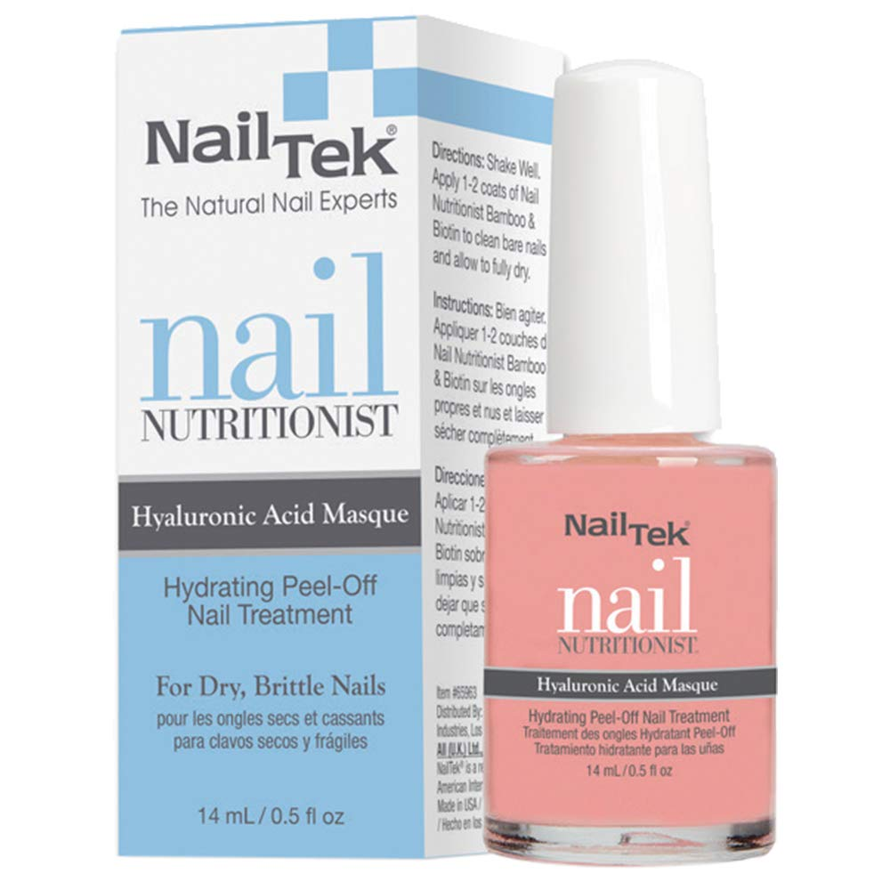 Nail trend rank Tek Nutritionist Peel-Off Hyaluronic Max 47% OFF Masque Acid with