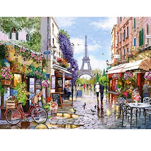 Smklcm De Seiko París Mercado de Las Flores Rompecabezas, 3000 Piezas en Caja Fotografía de Juego de los Juguetes de Arte Pintura, Adultos y niños El estrés relevista Puzzle