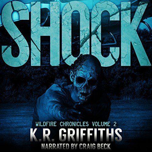 Shock audiobook cover art