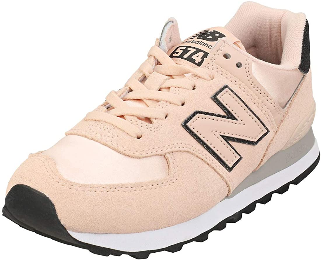 New Balance 574 Rose Water Rain Suede Cloud Shoes Trainers Adult SEAL限定商品 別倉庫からの配送