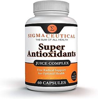Super Antioxidant Supplement - Goji Berry Capsules, Acai Berry Capsules, Mangosteen Capsules, Resveratrol, Pomegranate & N...