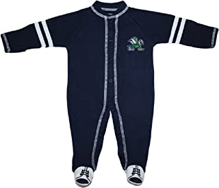 University of Notre Dame Fighting Irish Sports Shoe Footed Baby Romper