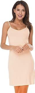 Women's Full Slip Under Adjustable Spaghetti Strap Cami Mini Dress