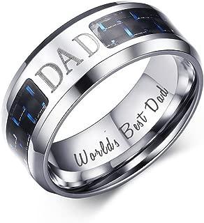 Best cheap mens dad rings Reviews