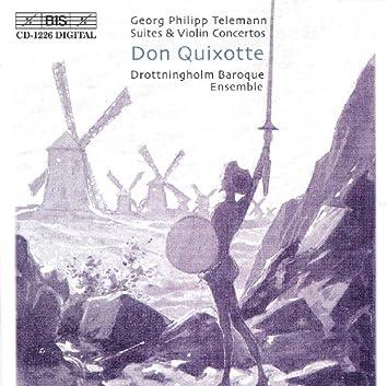 Telemann: Suite Burlesque De Quixotte / Concerto for Strings in D Major