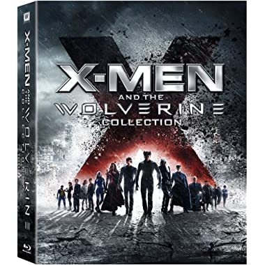 X-Men and the Wolverine Collection (X-Men/X2: X-Men United/X-Men: The Last Stand/X-Men Origins: Wolverine/X-Men: First Class/The Wolverine) [Blu-ray]