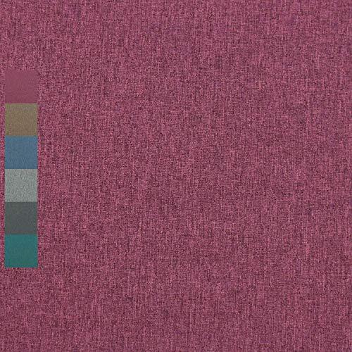 Softshell melange, meliert, wind- und wasserabweisend, dunkelbeere (50cm x 145cm)