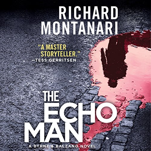 The Echo Man audiobook cover art