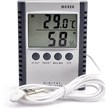 Mini indoor outdoor hygrometer humidity gauge thermometer temperature mete Gw