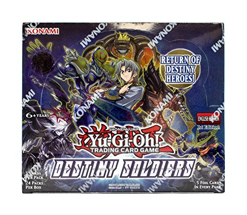 Yu-Gi-Oh Destiny Soldiers Booster Box by...
