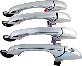 Wadoy 300 300C Door Handle Set Replace for 2006 2007 Chrysler 2005-2008 Dodge Magnum 2007 Charger Outside Exterior Outer Chrome Door Handle - 1 Front Left, 1 Front Right, 1 Rear Left, 1 Rear Right